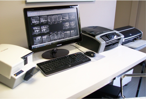 Imaging Center for Digital X-Rays at Collins Family and Implant Dentistry